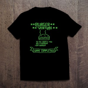 Burger 'Venture T-shirt
